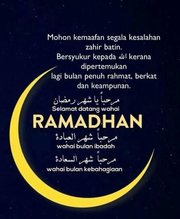 Ramadhan Bulan Untuk Berpesta!
