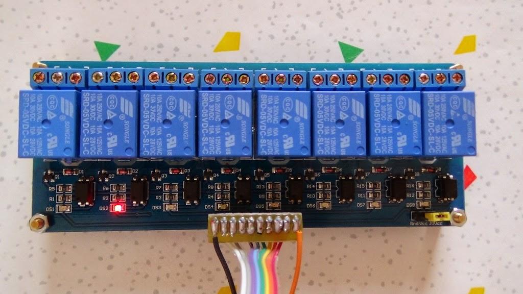 Modulo HL-58S con 8 Relè - Foto di Paolo Luongo