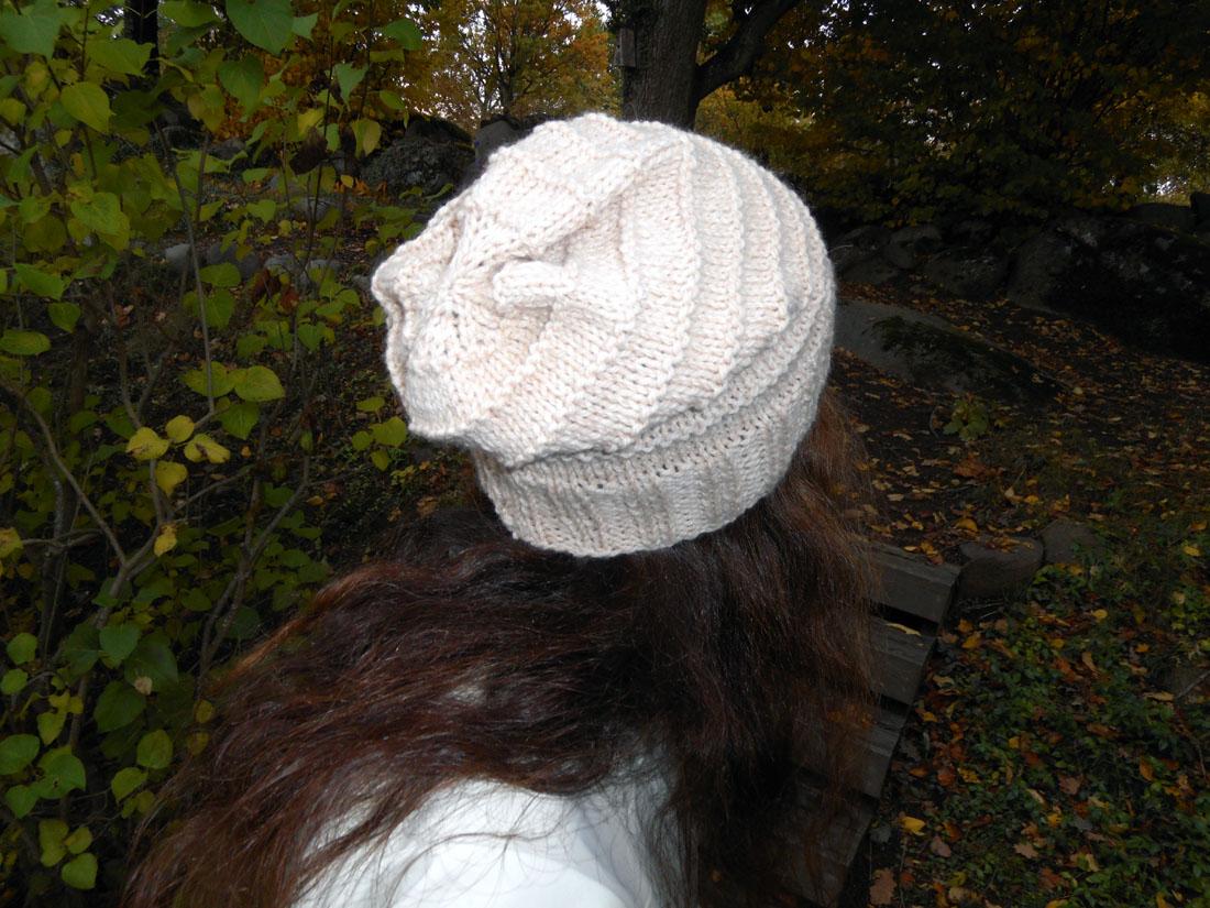 Cappello di lana ai ferri