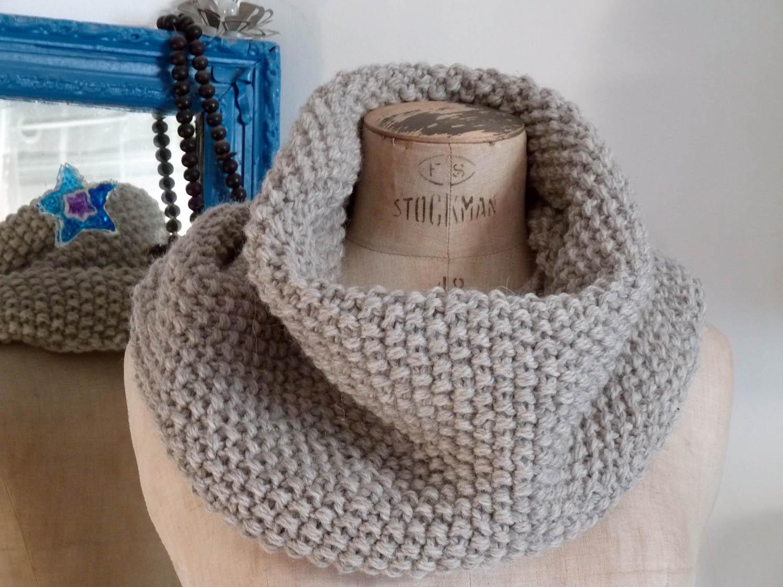 mes favoris tricot crochet mod le gratuit maxi col au point de riz. Black Bedroom Furniture Sets. Home Design Ideas