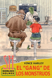 Sherlock Holmes y el Gang de los Monstruos, por Vince Harley (Alberto López Aroca)
