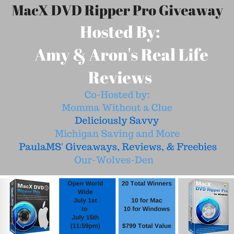MacX DVD Ripper Pro Giveaway | Easter Babe's Theory