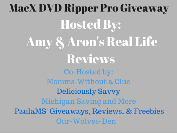 Join the MacX DVD Ripper Pro Giveaway (Open Worldwide)