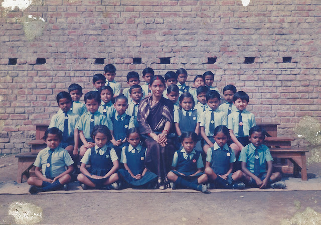 Class pic, Std 1, 1990 st michael school jamalpur