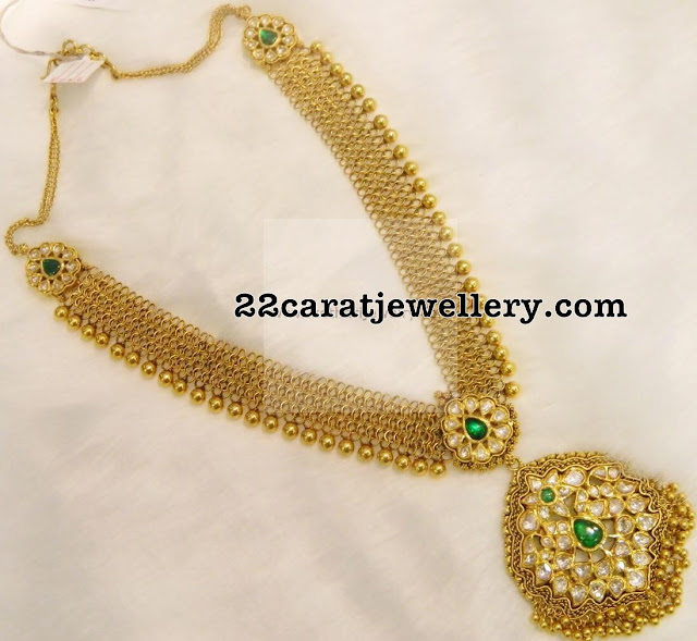 Antique Long Chain worth 4 Lakhs