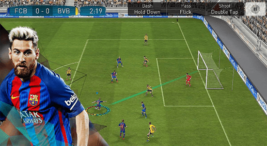 تحميل لعبة بيس PES 2017 للاندرويد كاملة و مجانا APK