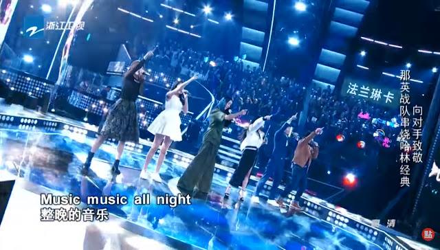 中國新歌聲 SING CHINA, NA YING & HARLEM PK rounds