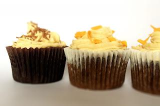 Mocha Cupcake Trio