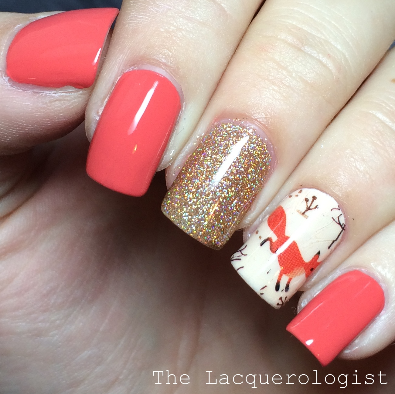KBShimmer For Fox Sake & Foxy Winter Water Slide Decals • Casual ...