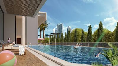 Tiện ích bể bơi của chung cư