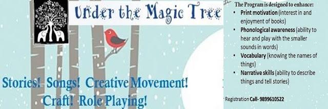 Noida Diary: Under the Magic Tree Friday Story Time