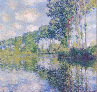 Peupliers au Epte - Claude Monet