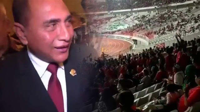 Video Nyanyian 'Wartawan Harus Baik' Menggema di Stadion GBK Saat Laga Timnas Indonesia Vs Filipina