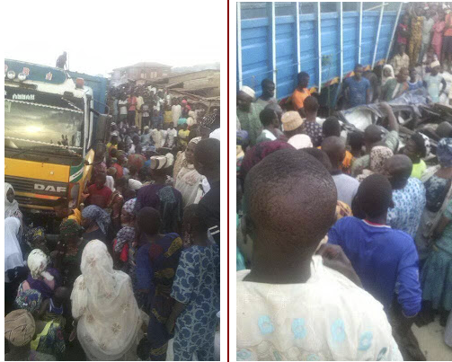 4 killed as Lorry falls on commercial bus carrying students of FG Girls College Oyo