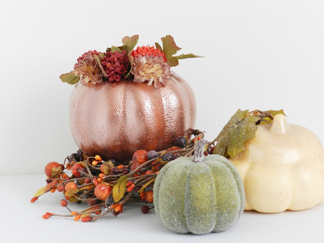 Fall Pumpkin Home Decor: by grow creative blog