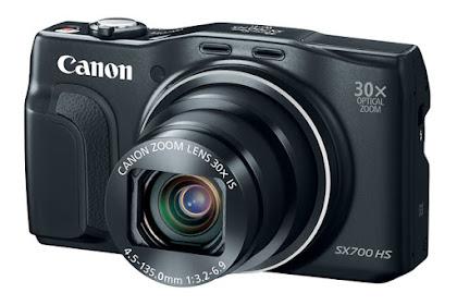Canon PowerShot SX700 HS Series Driver Download Windows, Mac