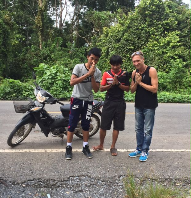 Rajanylitys Satunissa Thaimaassa