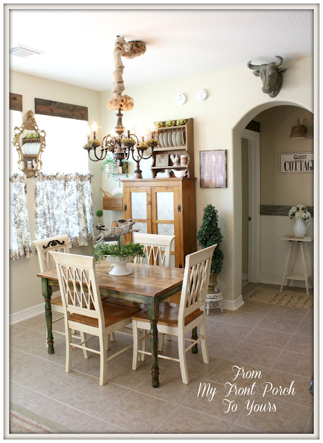 French Farmhouse kitchen-Kitchen Makeover-DIY Kitchen-French Country-French Country Kitchen-Autumn Haze Glidden Paint-From My Front Porch To Yours