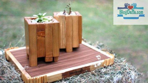 Jenis pot tanaman berbahan kayu dan karakternya