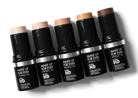 Make Up For Ever Ultra HD Stick Foundation New shades Y205 Y215 R330 Y375 R540 Review Photos Swatches