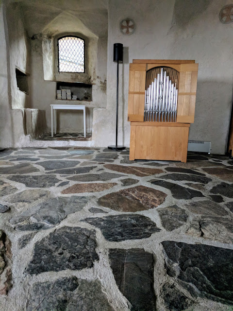 Chapel in Olavinlinna Castle in Savonlinna Finland