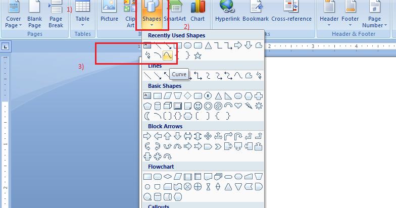 Cara Membuat Sketsa Peta di Microsoft Word - ABDI DESA