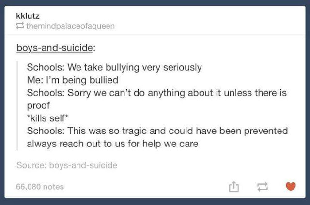 Amusing comment about ironic bullying