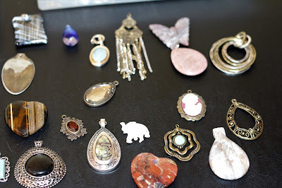 Necklace Pendents, Living from glory to glory blog...