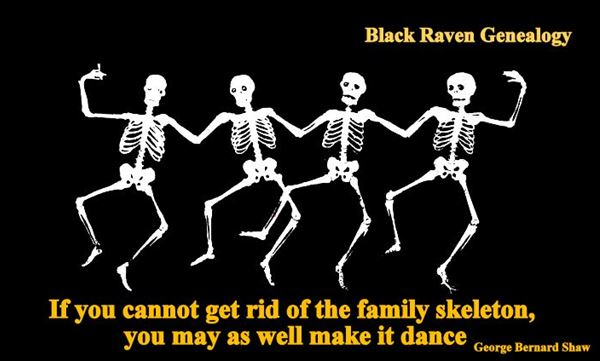 If you cannot get rid of the family skeleton, you may as well make it dance