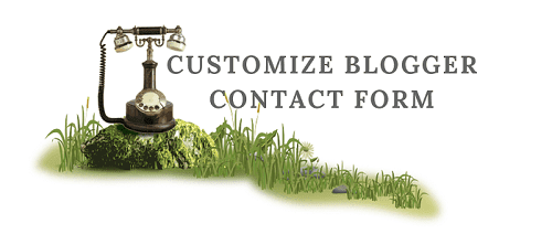 Blogger Contact Form