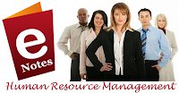 MBA Notes - Human Resource Management Notes