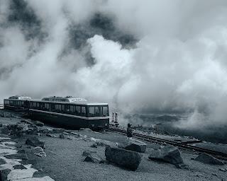 train in b/w