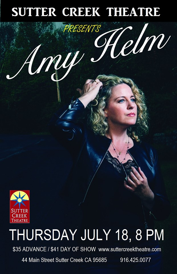 Sutter Creek Theater: Amy Helm - Thurs July 18