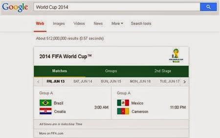 Dân công nghệ cháy cùng World Cup 2014