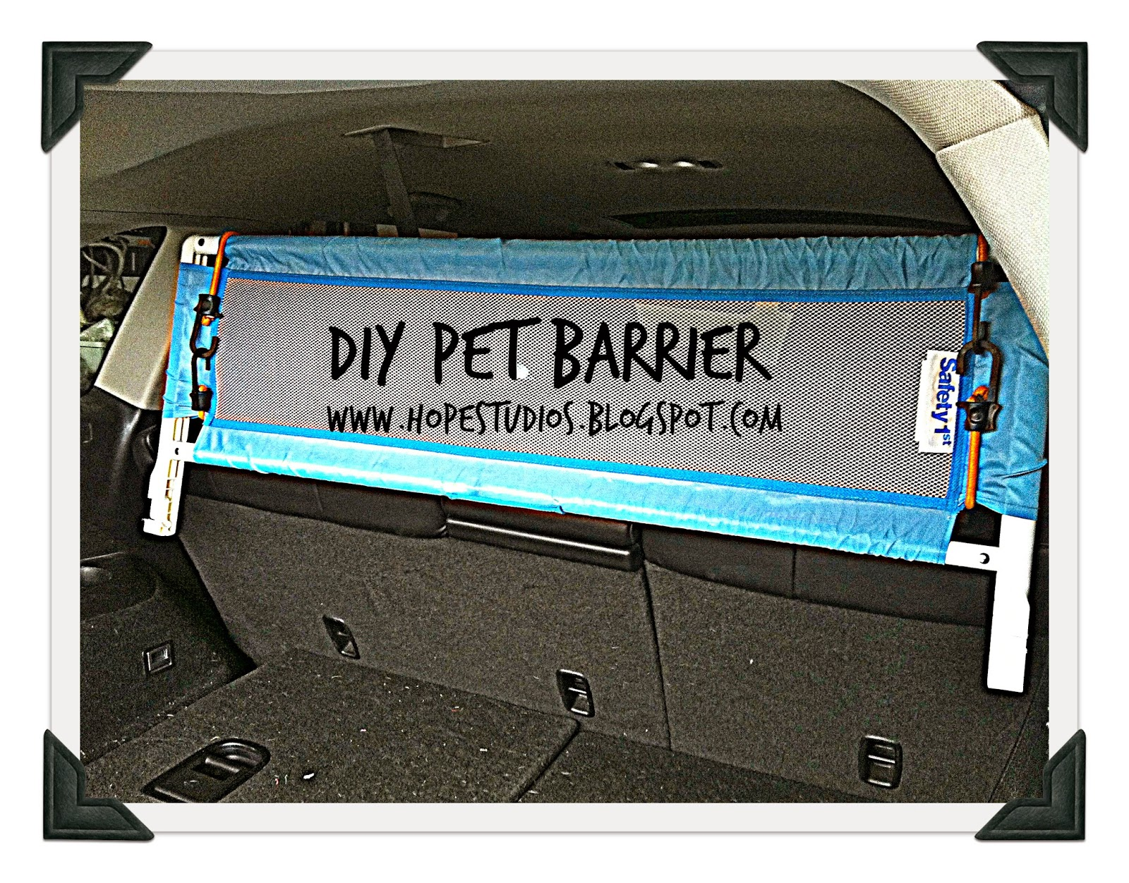 Hope Studios Last Minute Pet Barrier For Suv