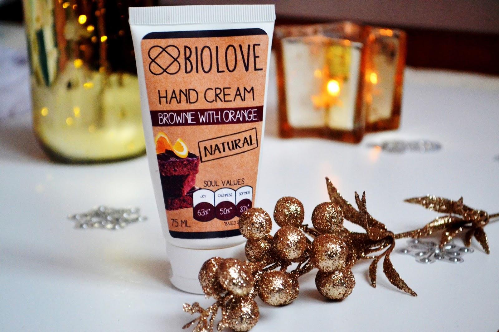 kontigo naturalne kosmetyki biolove opinie krem do rąk brownie z pomarańczą