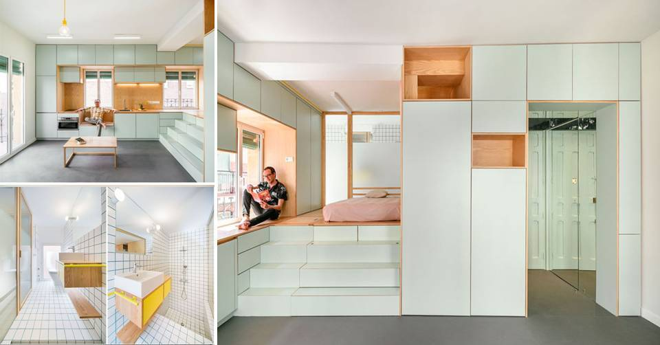 0%2BThe%2BDesign%2BOf%2BThis%2BRenovation%2BSmall%2BApartment%2BIncludes%2BMany%2BCreative%2BStorage%2BSolution%2BIdeas The Design Of This Renovation Small Apartment Includes Many Creative Storage Solution Ideas Interior