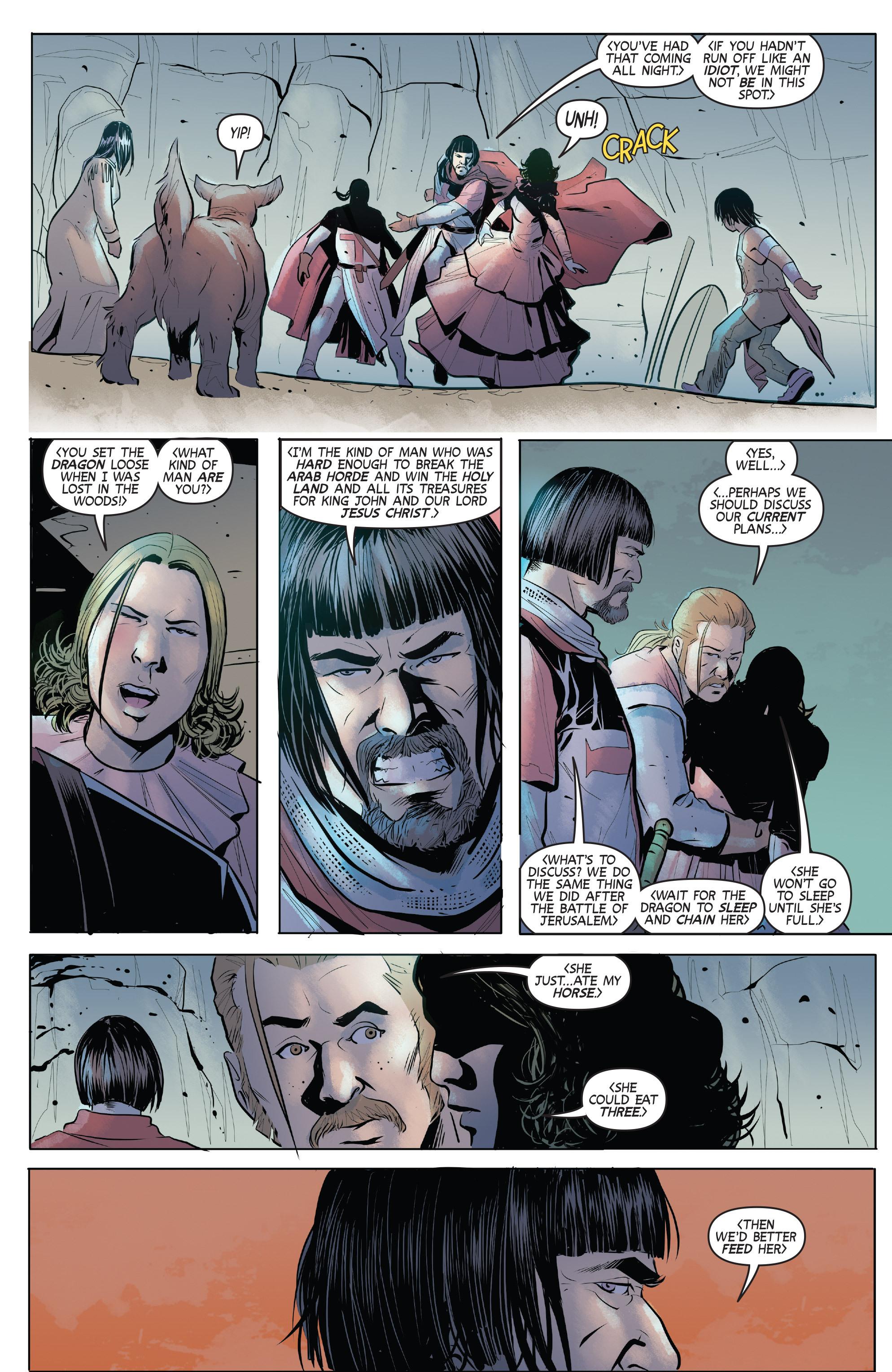 Read online Turok: Dinosaur Hunter (2014) comic -  Issue # _TPB 1 - 83