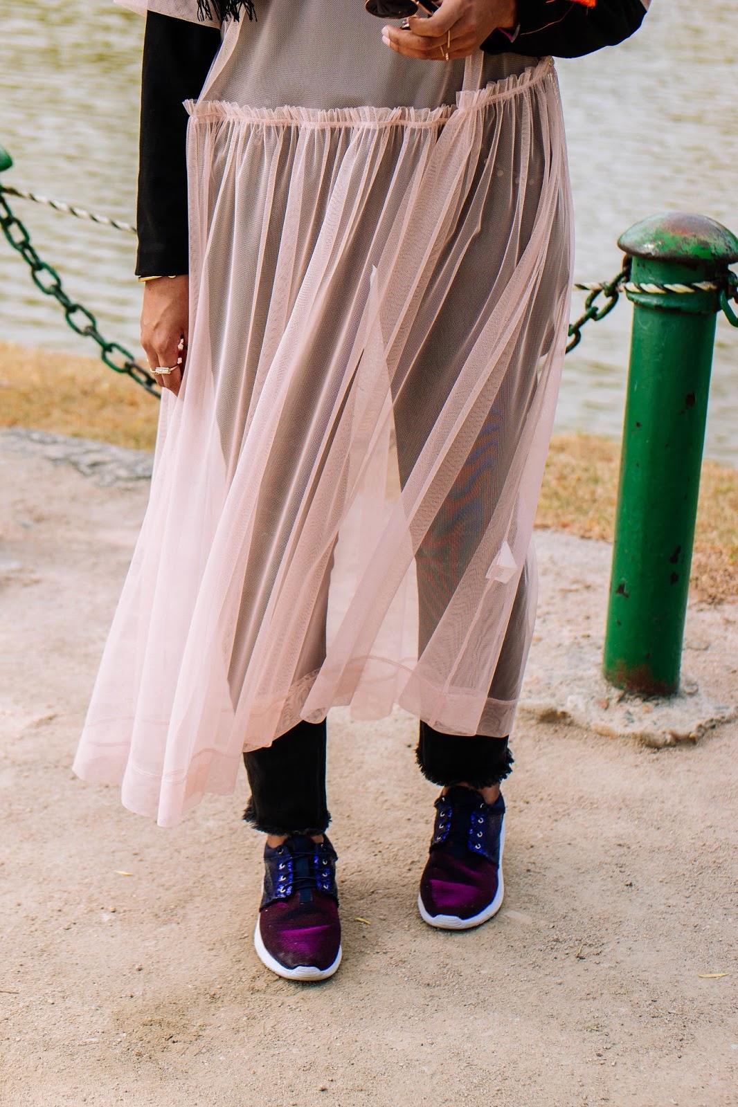 Shimmer Glitter Sneakers