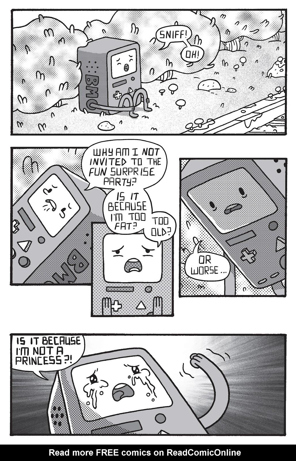 Read online Adventure Time: Pixel Princesses comic -  Issue # Full - 17