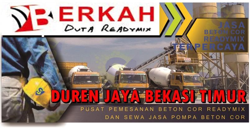 Harga beton Cor Bekasi Timur Duren Jaya