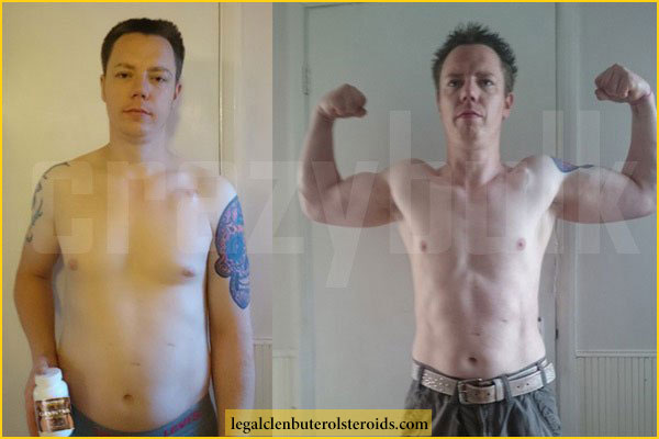 Clenbutrol Progress - Carl's Before and After