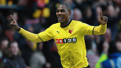 Watford stiker Odion Ighalo quote, i want to be a Nigeria King if i win the FA Cup