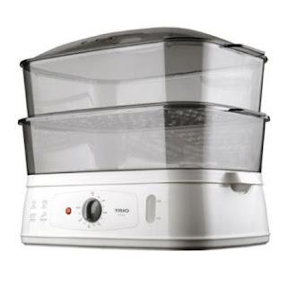 Pilih pengukus Food Steamer terbaik, Pengukus TRIO, Pengukus Pensonic
