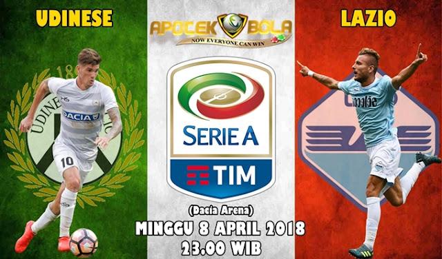 Prediksi Udinese vs Lazio 8 April 2018