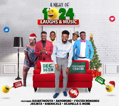 BasketMouth Leads Forces For 'Night of 1024 & Music' On December 26
