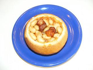 retete de mancare supa de fasole in paine de casa,