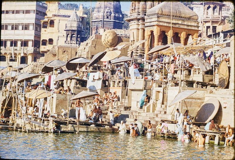 Ghats of Varanasi (Benaras/Kashi) - Circa c1950-60's