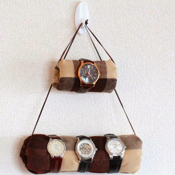 Expositor Diy para Organizar nuestros Relojes