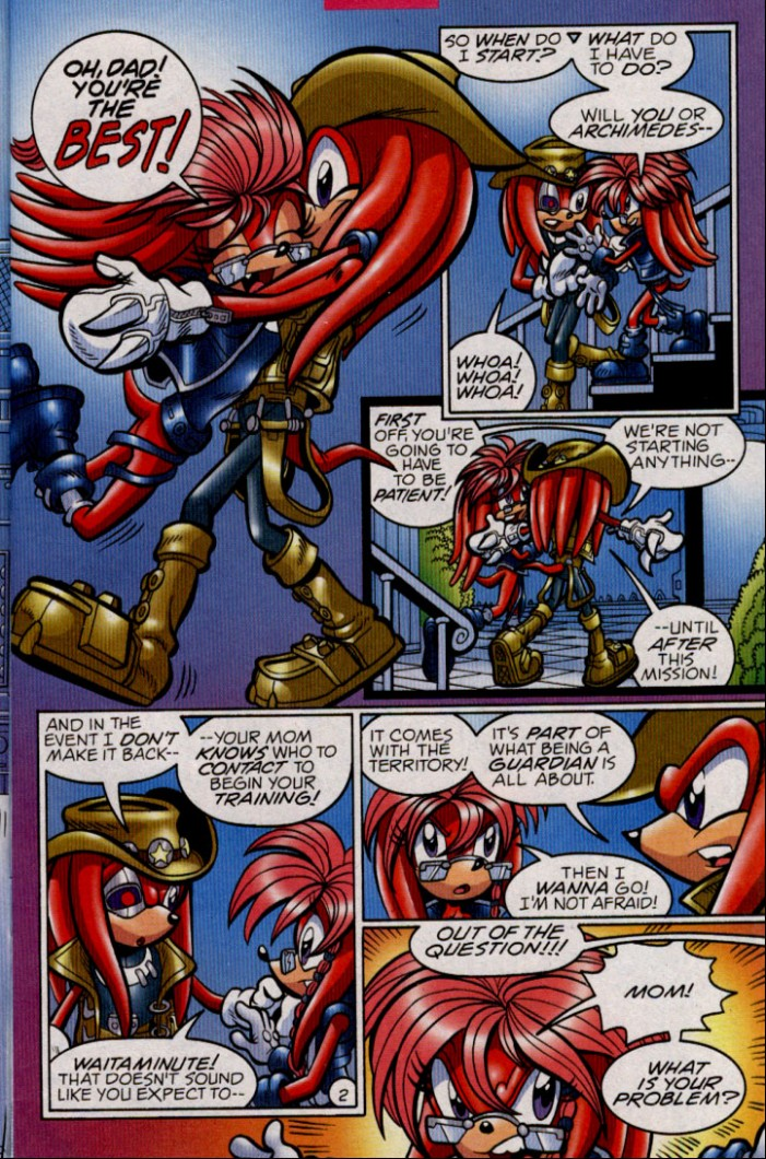 Read online Sonic The Hedgehog comic -  Issue #144 - 4